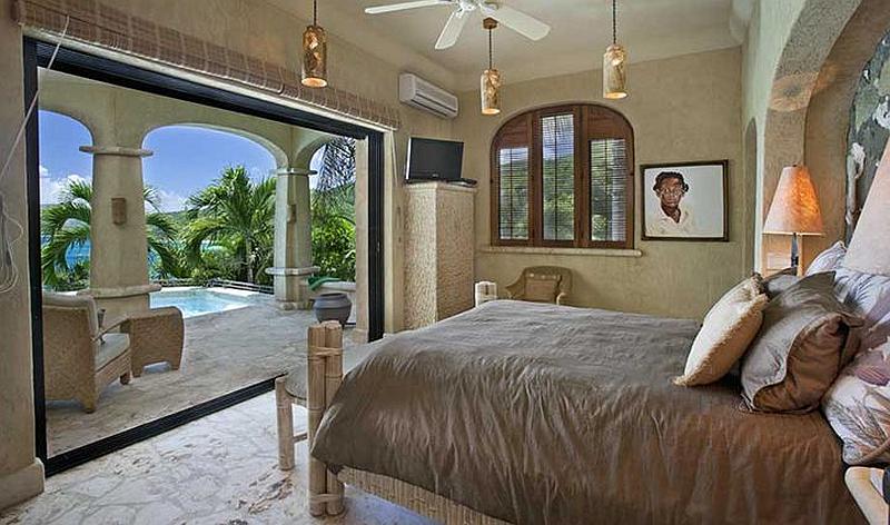 Pool level Bedroom Suite
